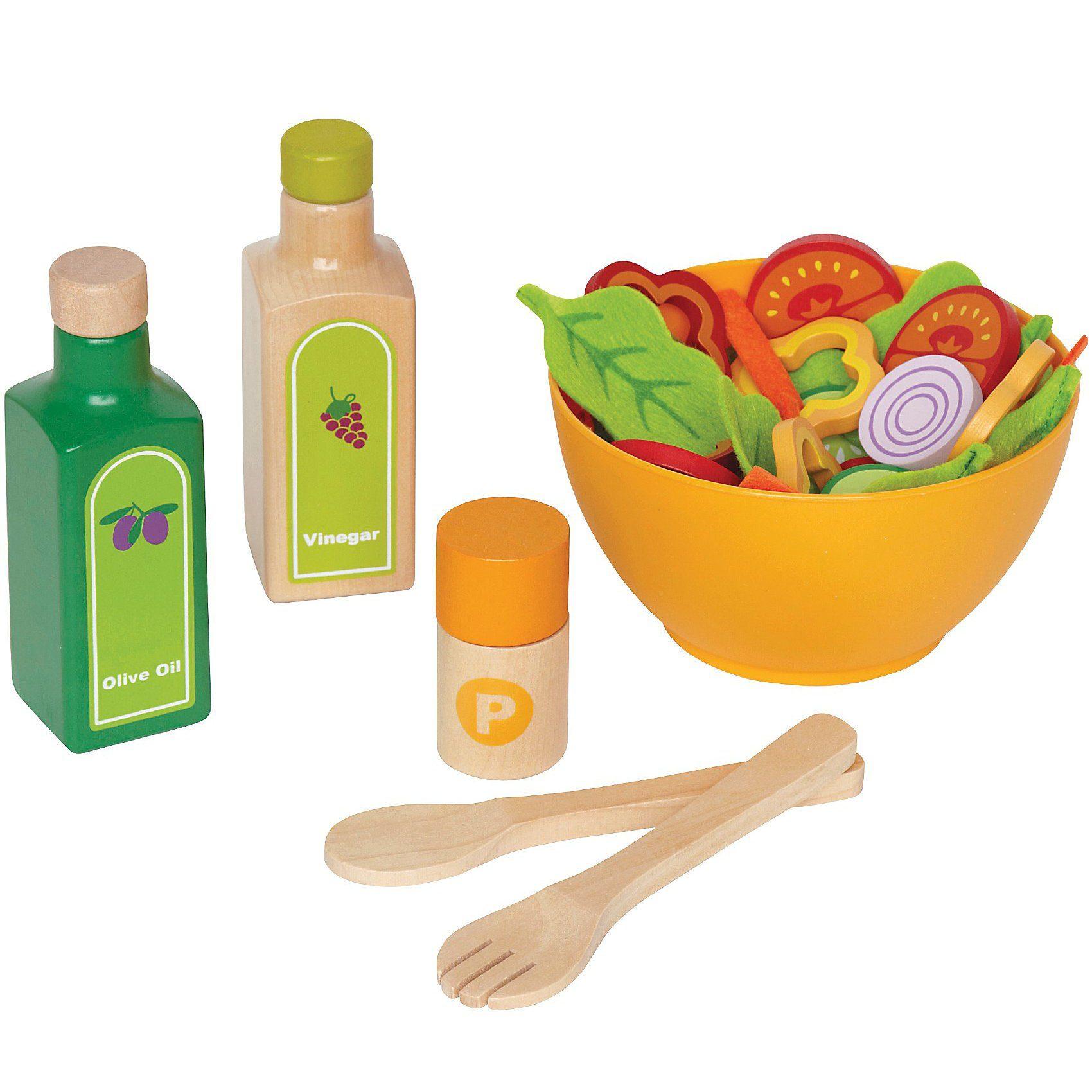 HAPE Spiellebensmittel Gartensalat-Set 36tlg.