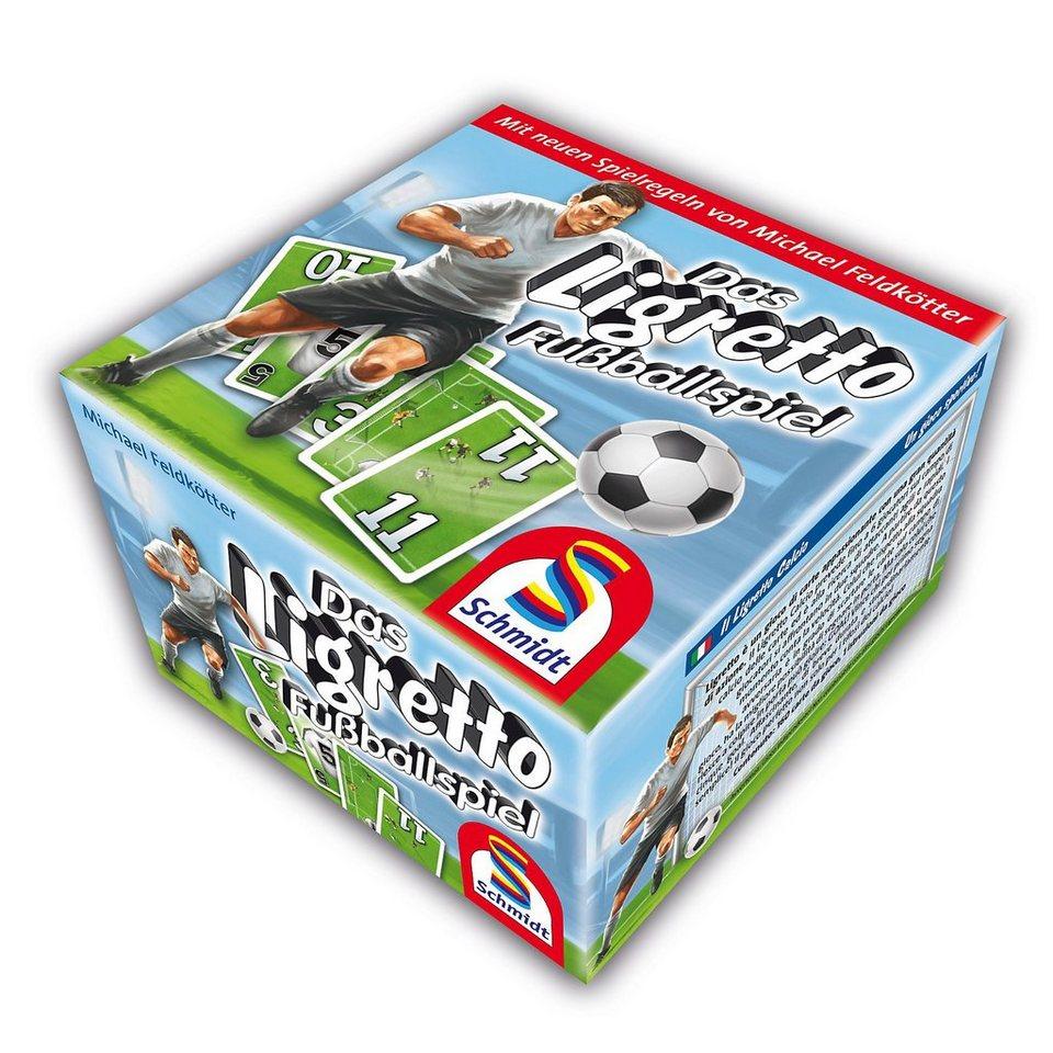 Schmidt Spiele Das Ligretto Fußballspiel