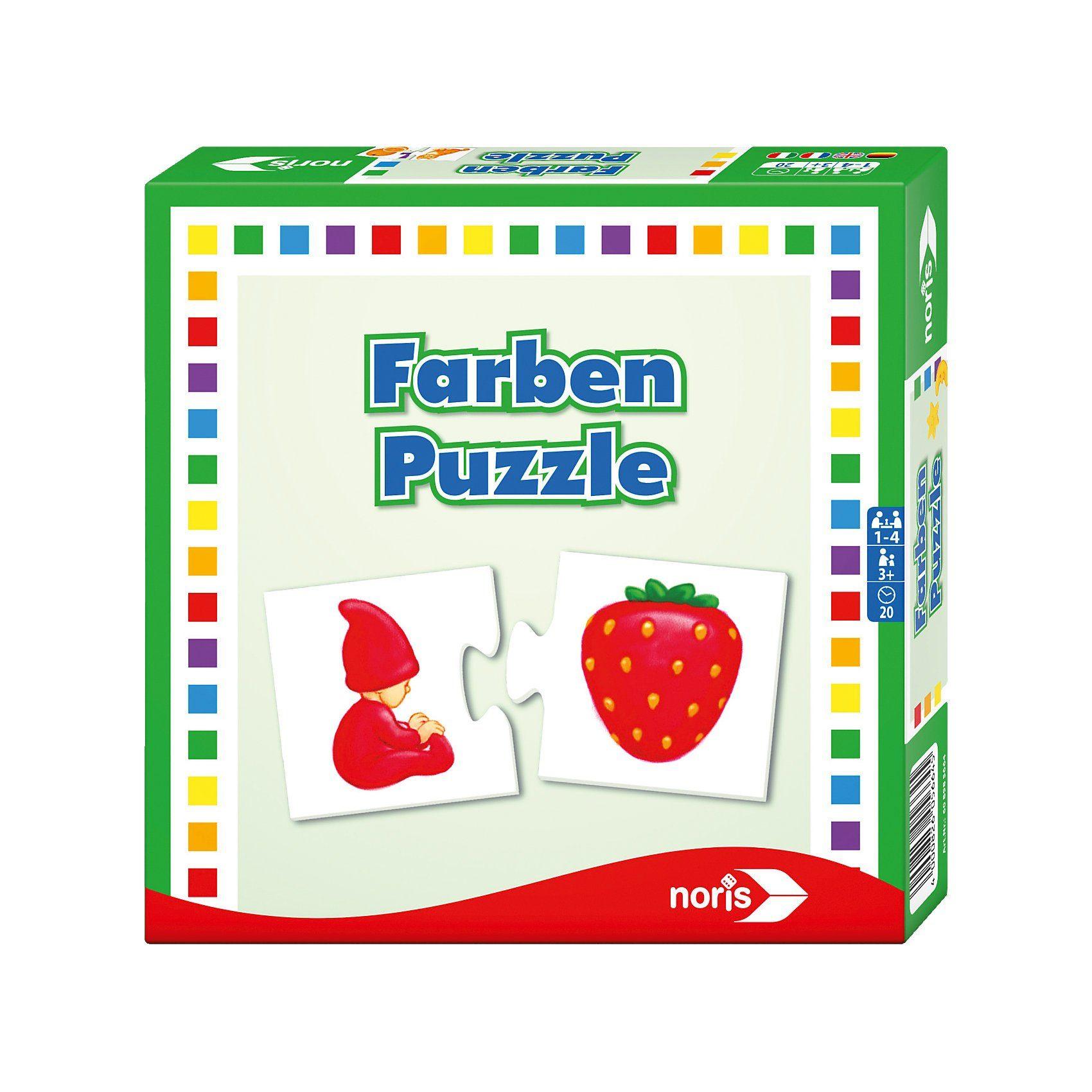 Noris Farben- Puzzle