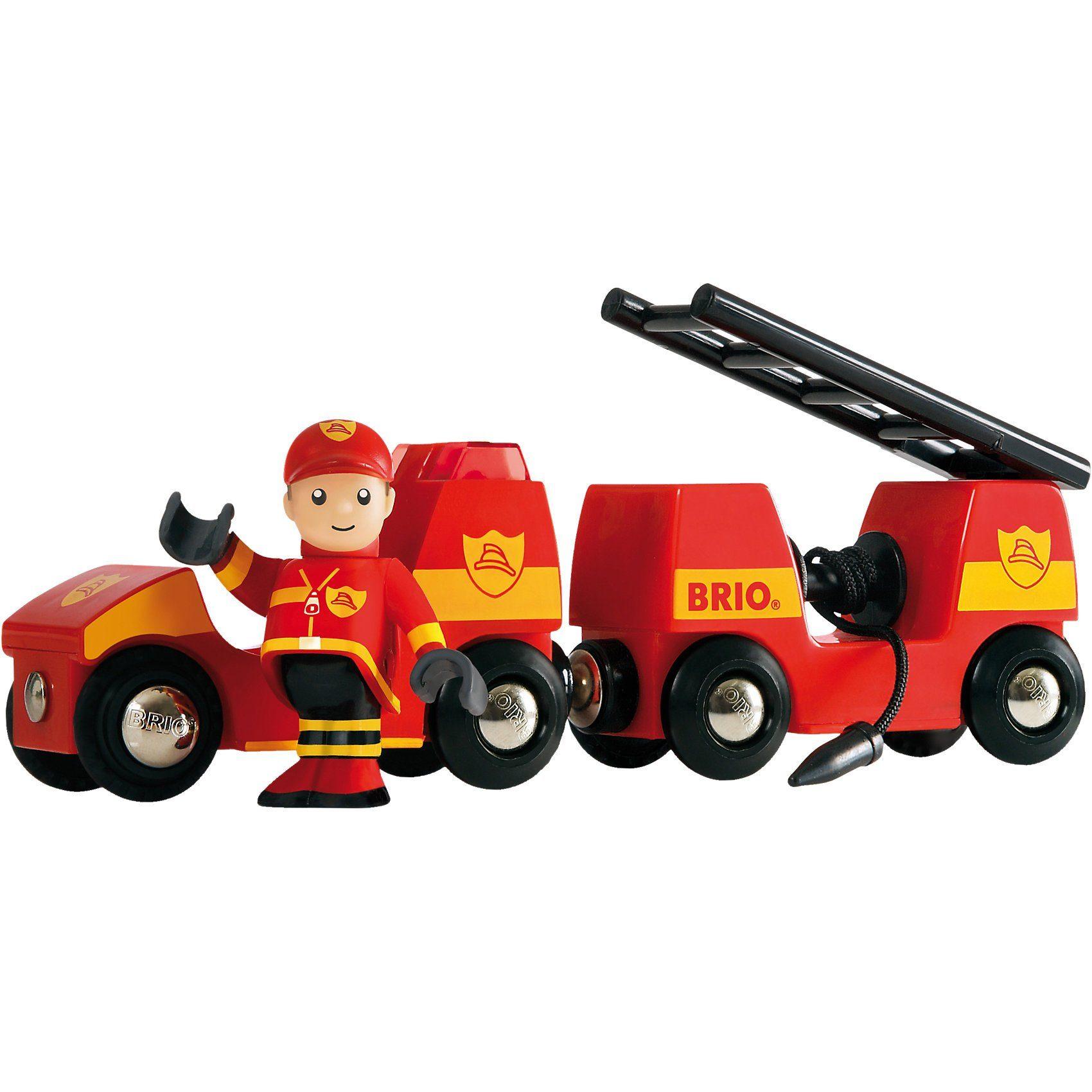 BRIO Light & Sound Feuerwehr