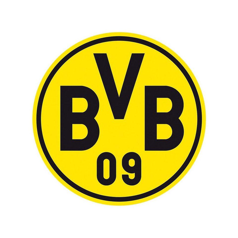 Wandsticker BVB, Logo in gelb