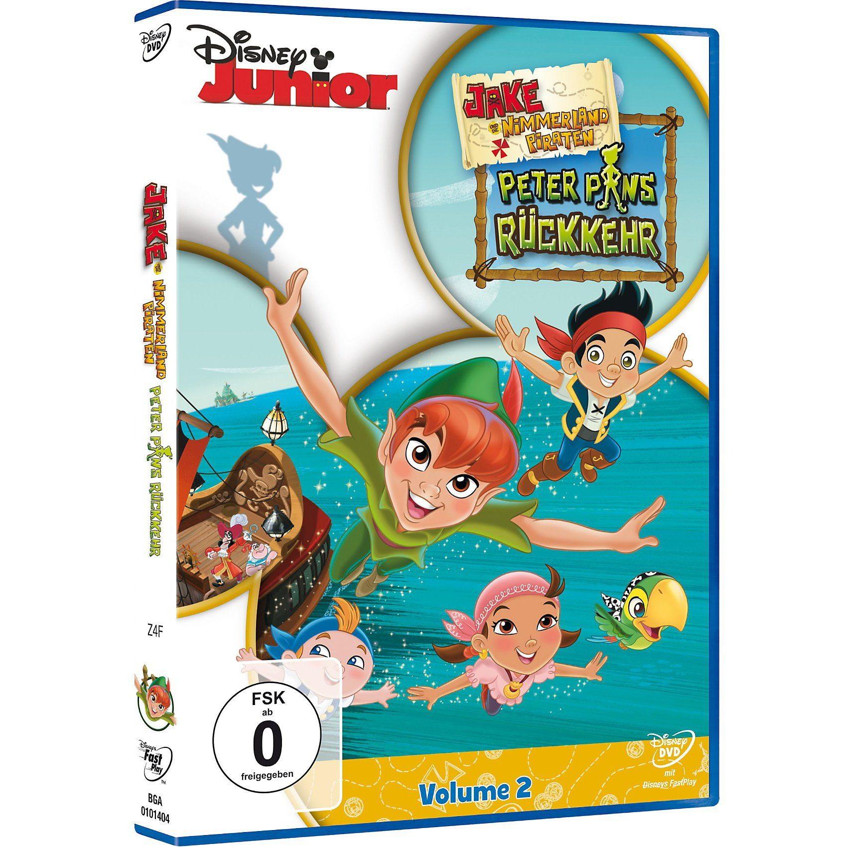 Disney DVD Jake und die Nimmerland Piraten: Peter Pans Rückkehr