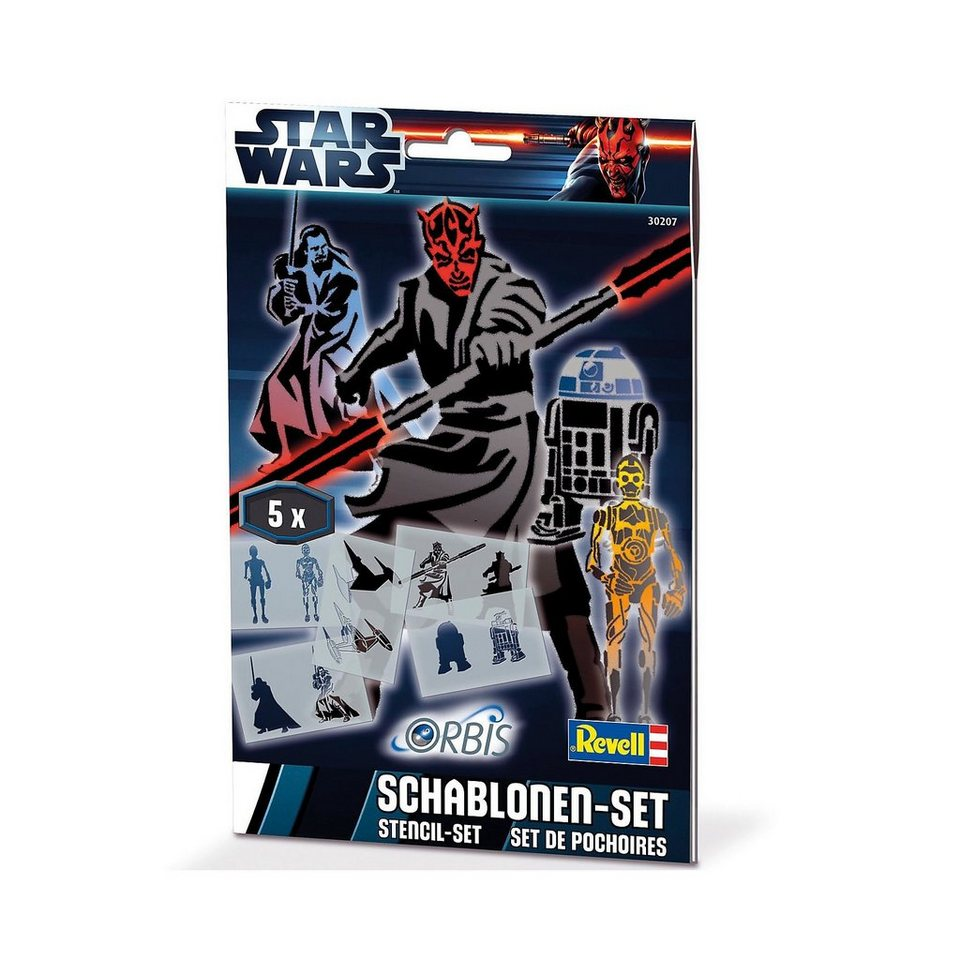 Revell Orbis 30207 Schablonen-Set Star Wars III