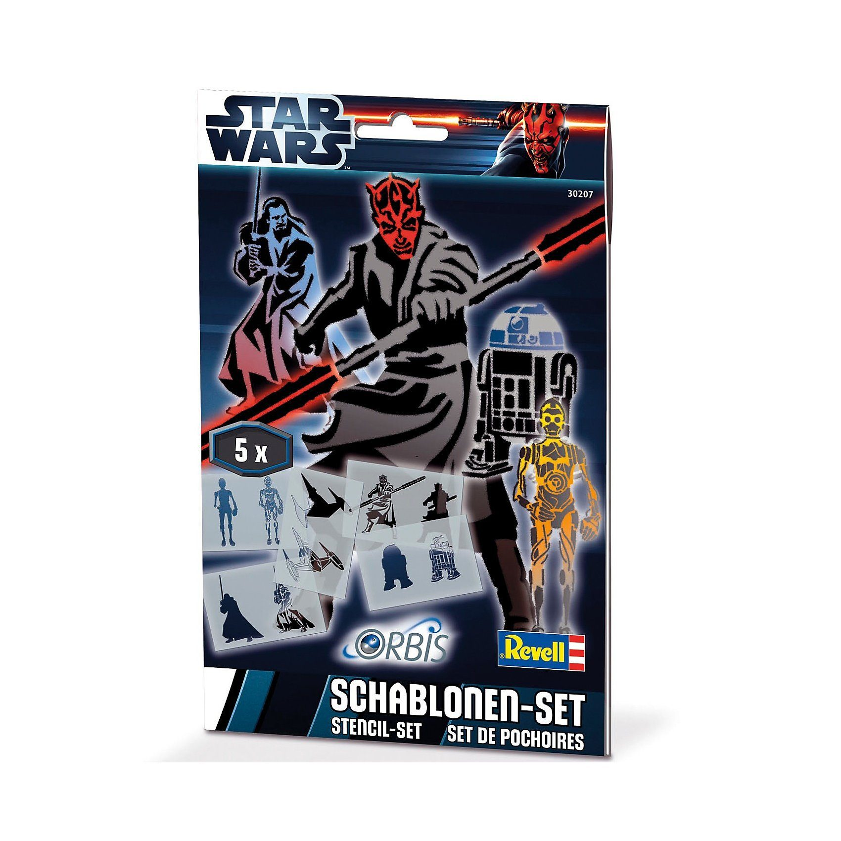 Revell Orbis 30207 Schablonen-Set Star Wars III