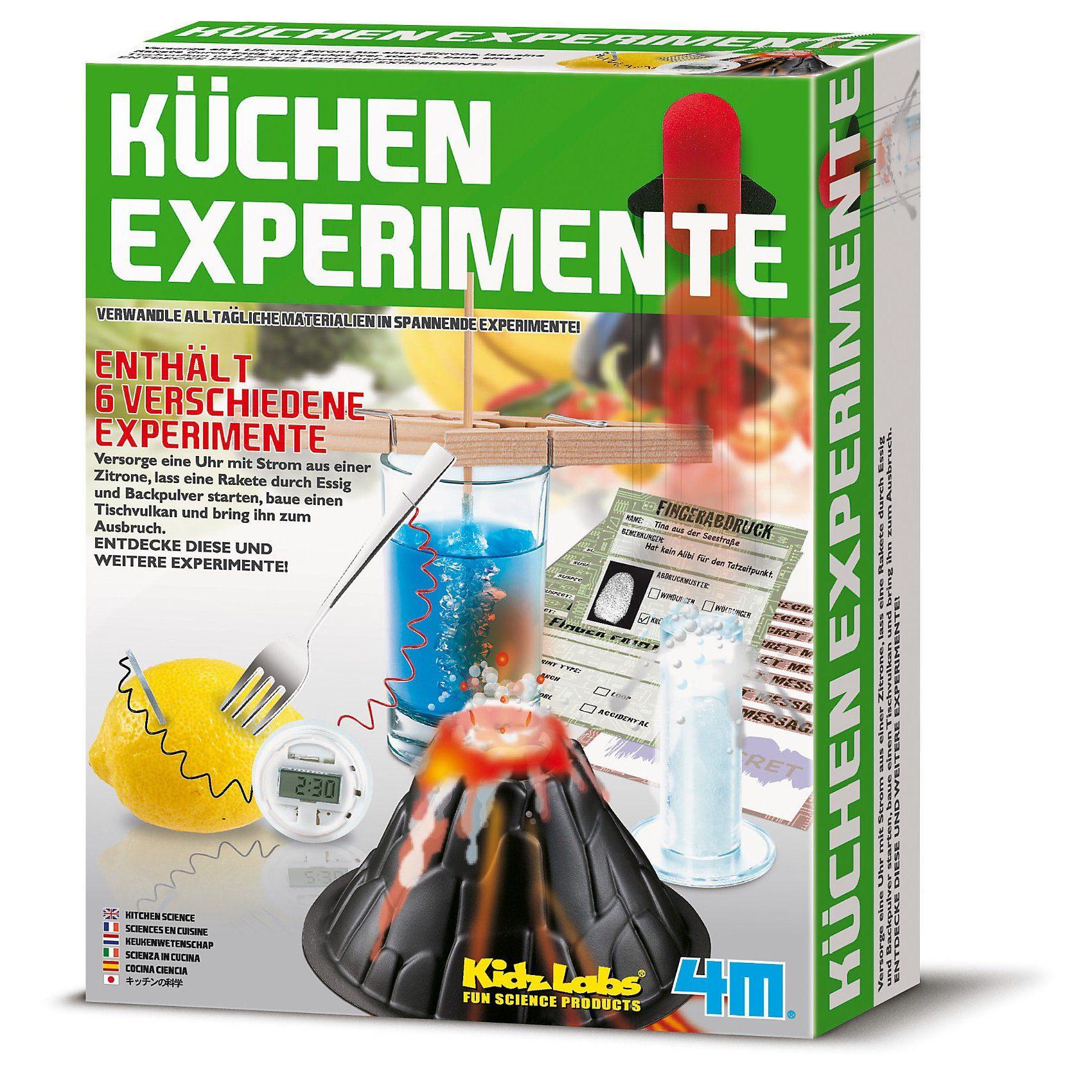 Experimentierset Küchenexperimente