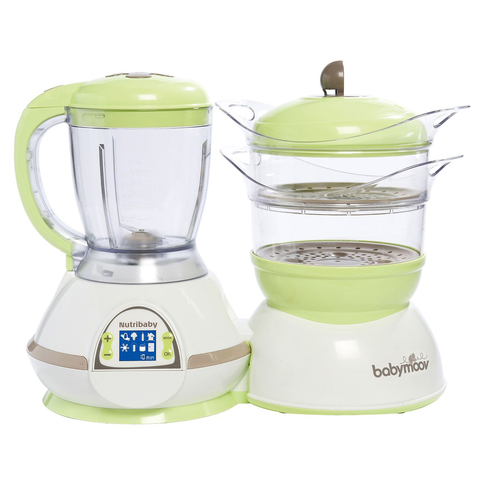 Babymoov Multifunktionsgerät Nutribaby 5 in 1, Zen