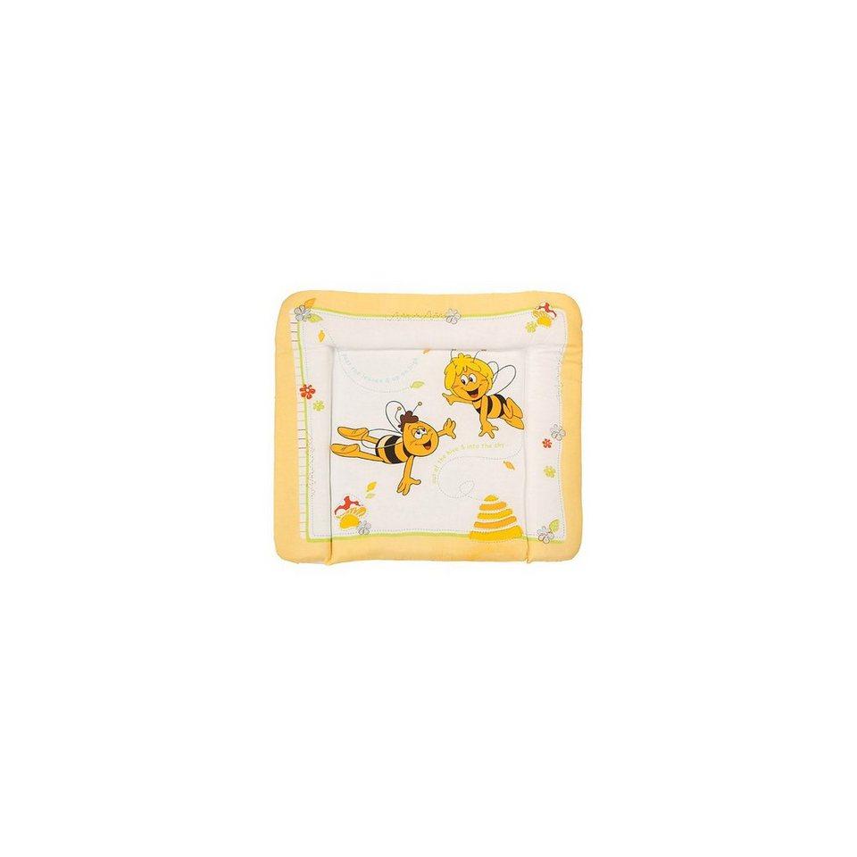 Roba Wickelauflage Soft, Biene Maja, 85 x 75 cm in gelb