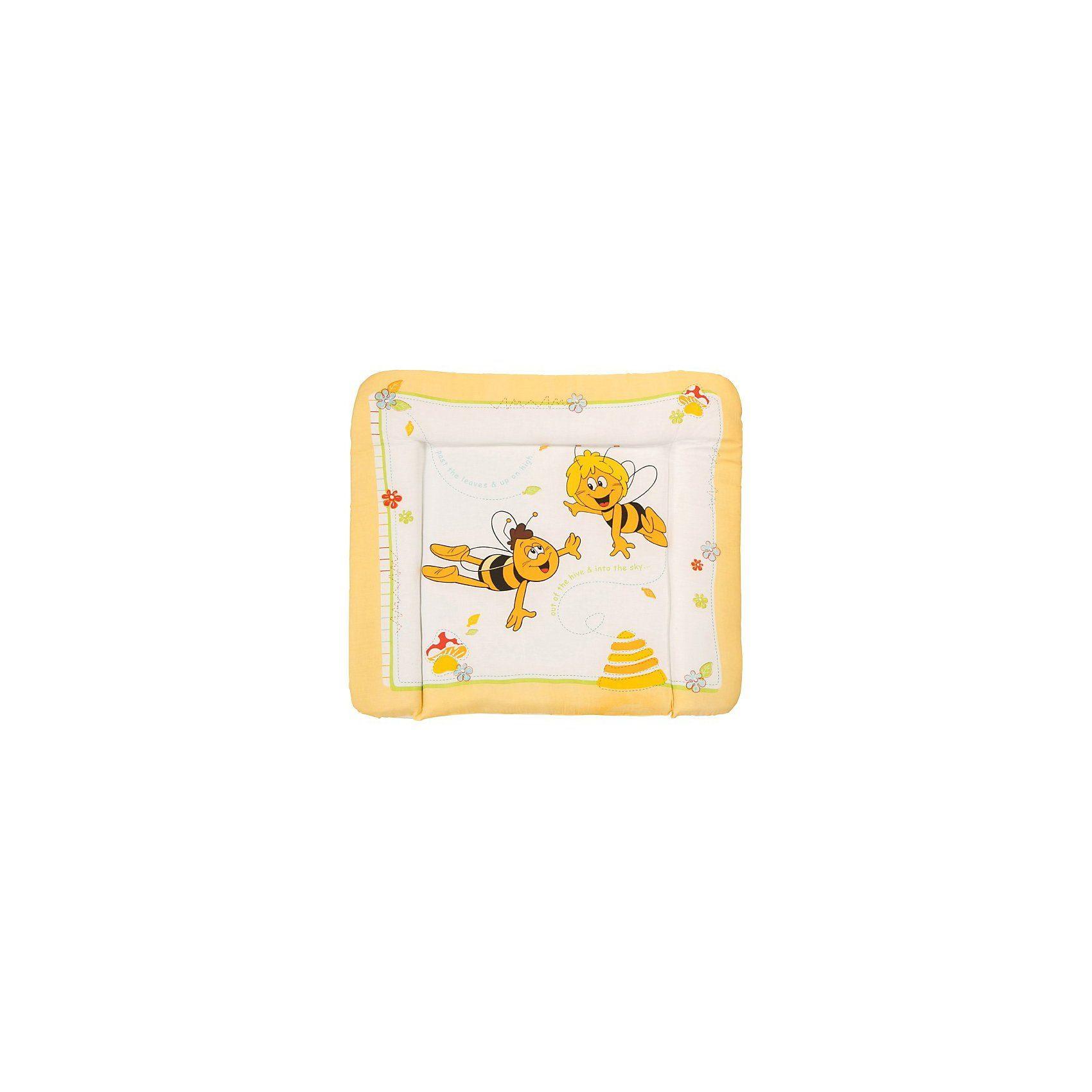 Roba Wickelauflage Soft, Biene Maja, 85 x 75 cm