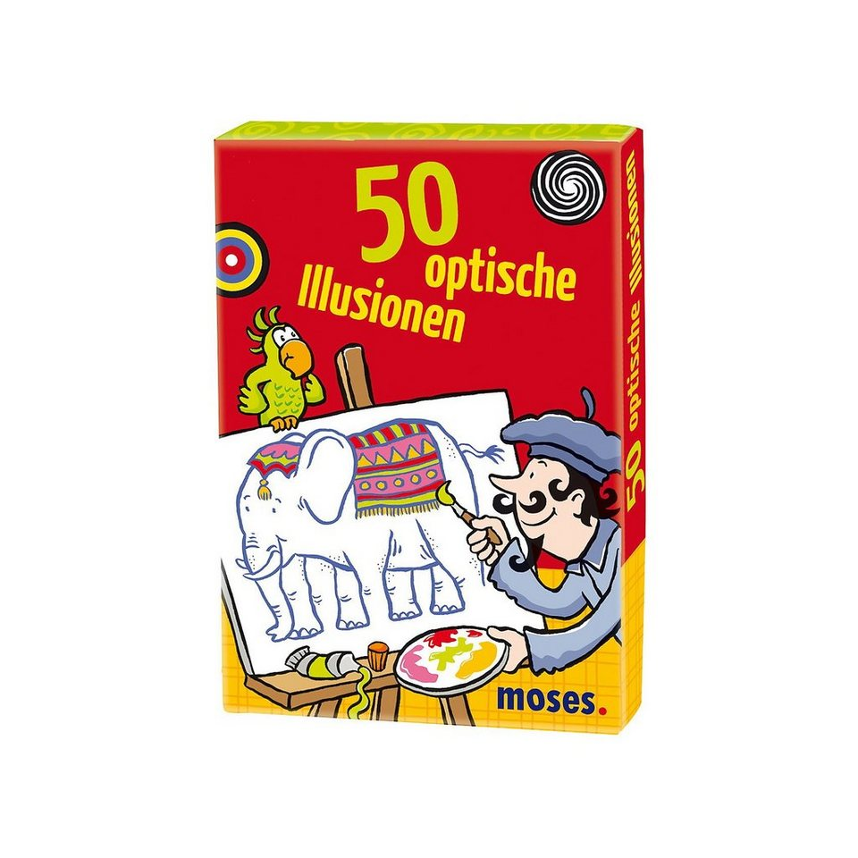 moses 50 optische Illusionen, Kartenset