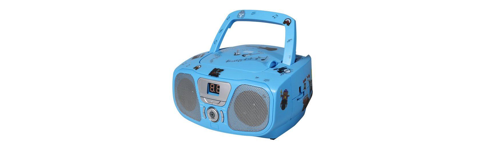 bigben CD-Player mit Radio CD 46 Kids blau