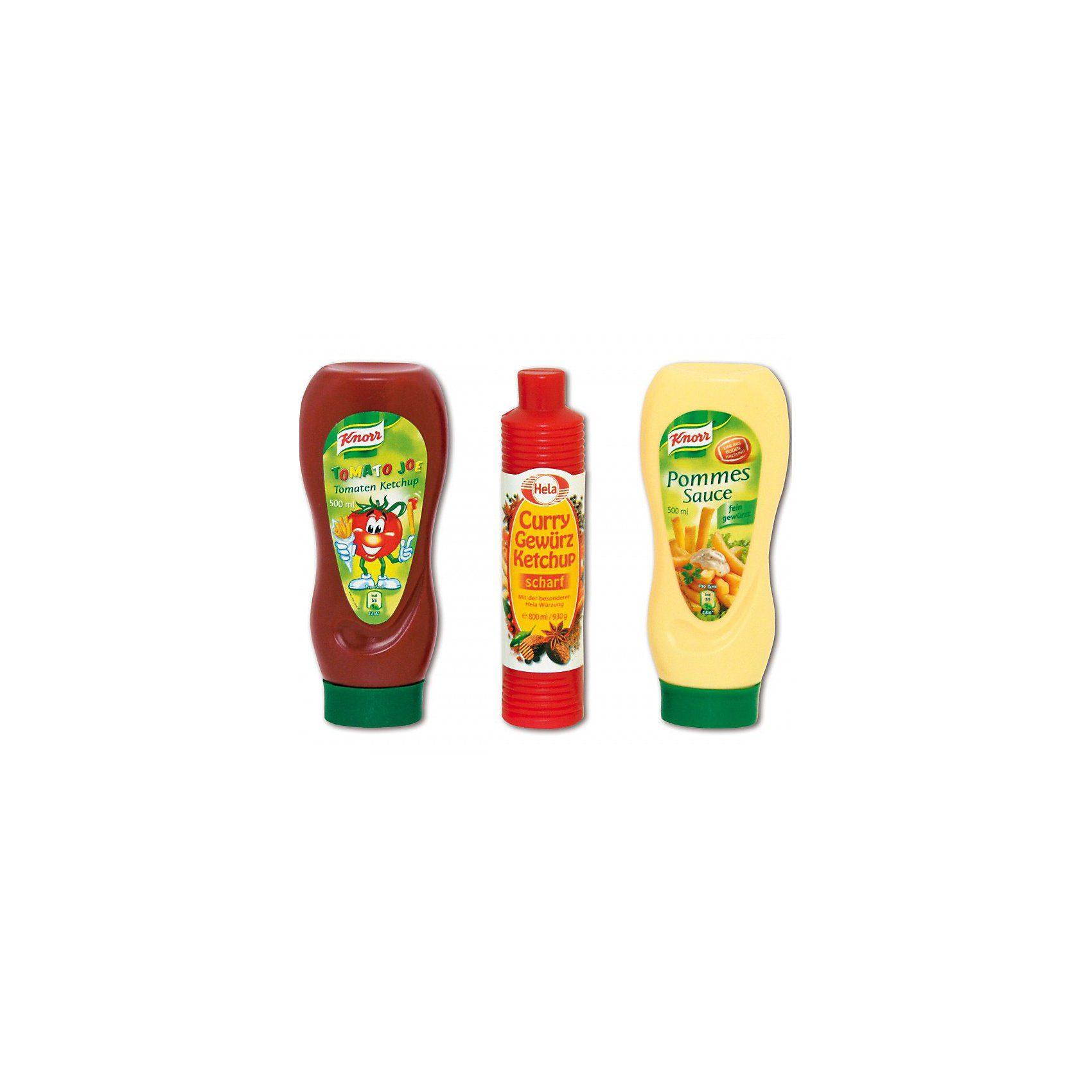 Chr. Tanner Spiellebensmittel Ketchup und Mayonnaise Set