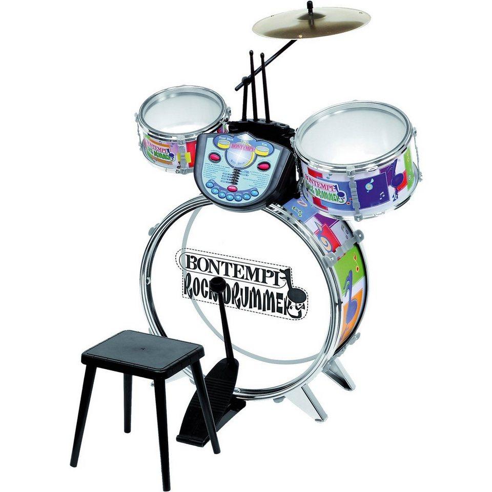 Bontempi Schlagzeug mit Elektronikmodul JE 5630