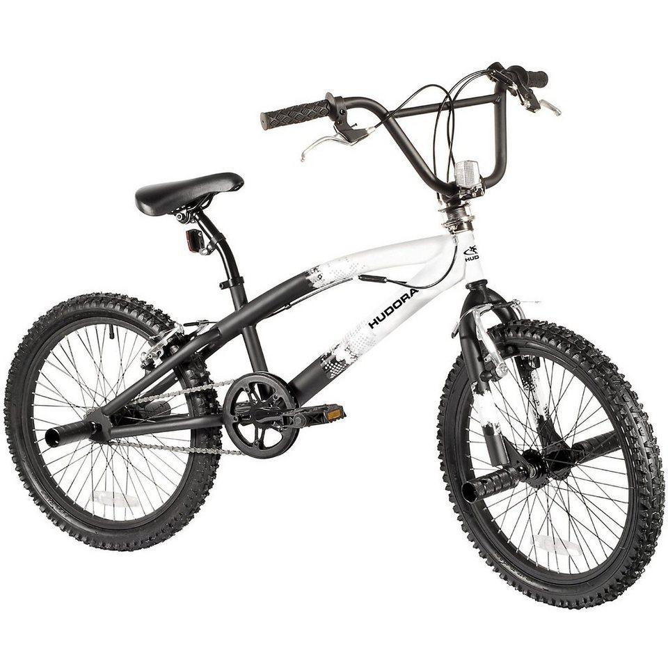 Hudora Freestyle Fahrrad 20 Zoll in weiß