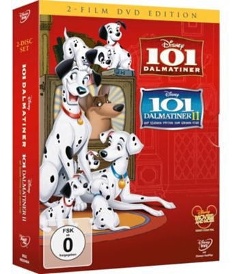Disney DVD DVD 101 Dalmatiner - Doppelpack (Teil 1+2)