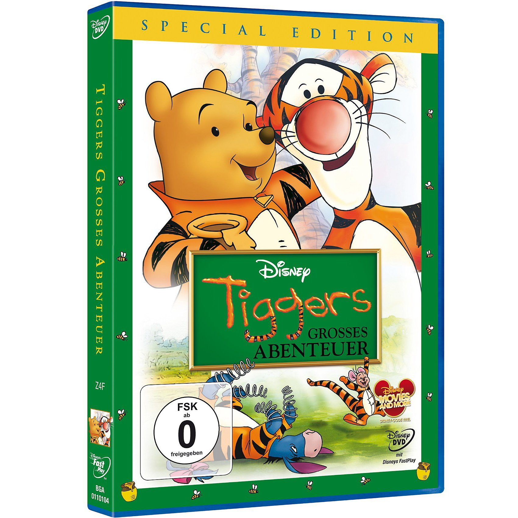 Disney DVD Tiggers großes Abenteuer (Special Edition)