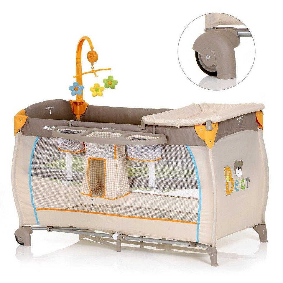 hauck reisebett babycenter bear online kaufen otto. Black Bedroom Furniture Sets. Home Design Ideas