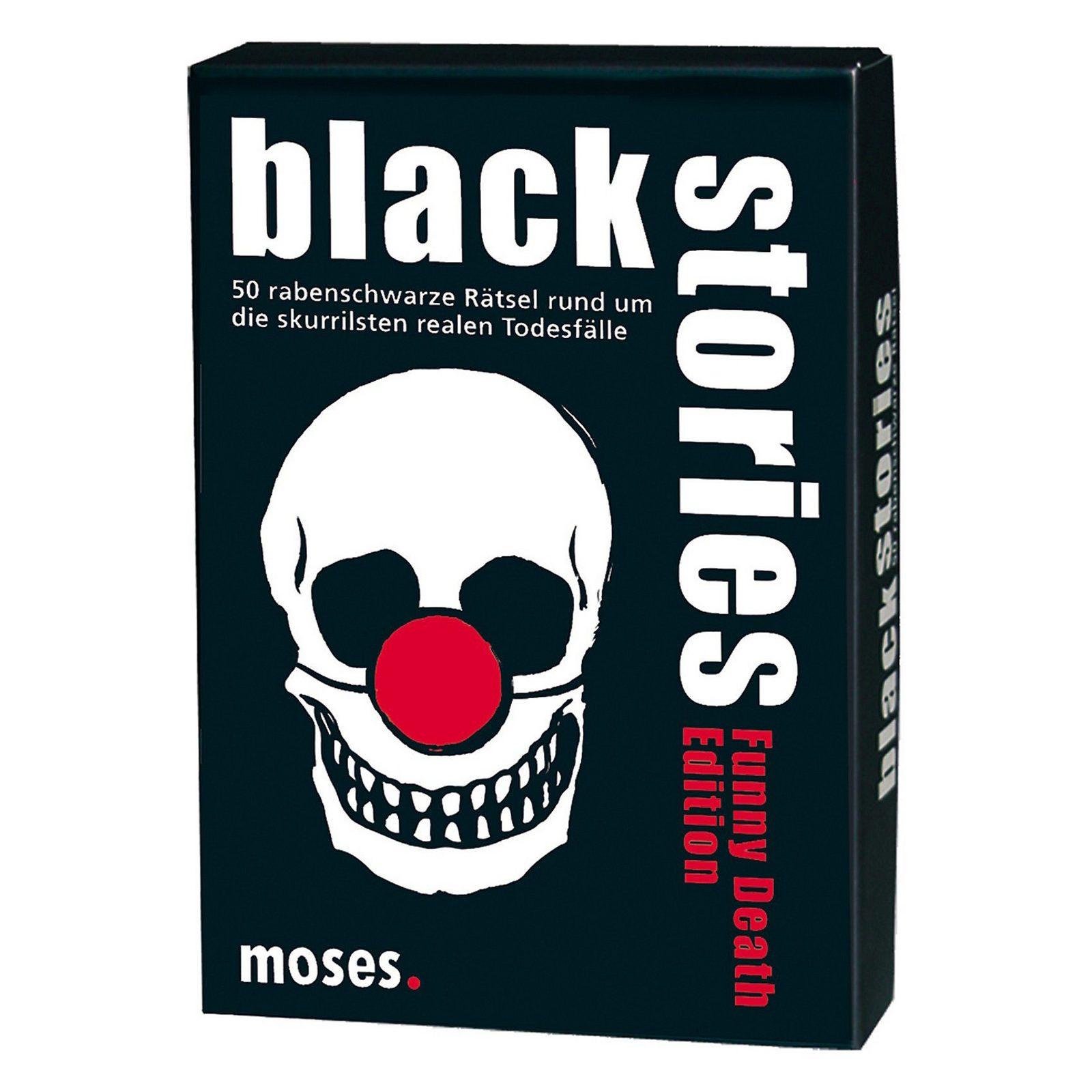 moses.Verlag GmbH Black Stories - Funny Death Edition, Kartenspiel jetztbilligerkaufen