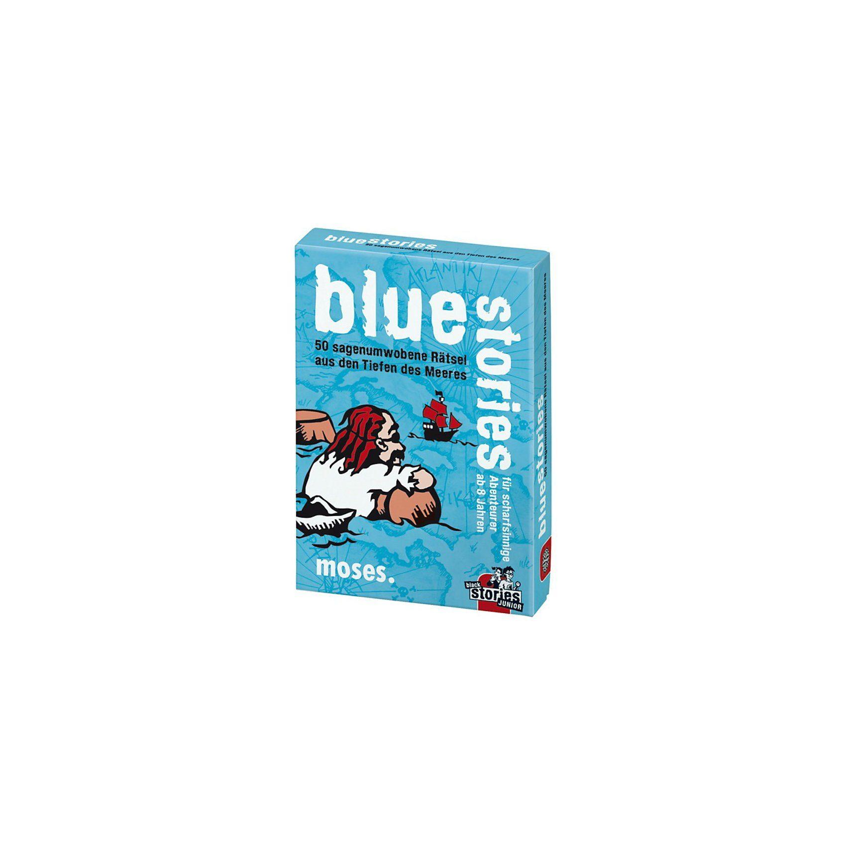 moses Blue Stories - 50 sagenumwobene Rätsel aus den Tiefen des Me