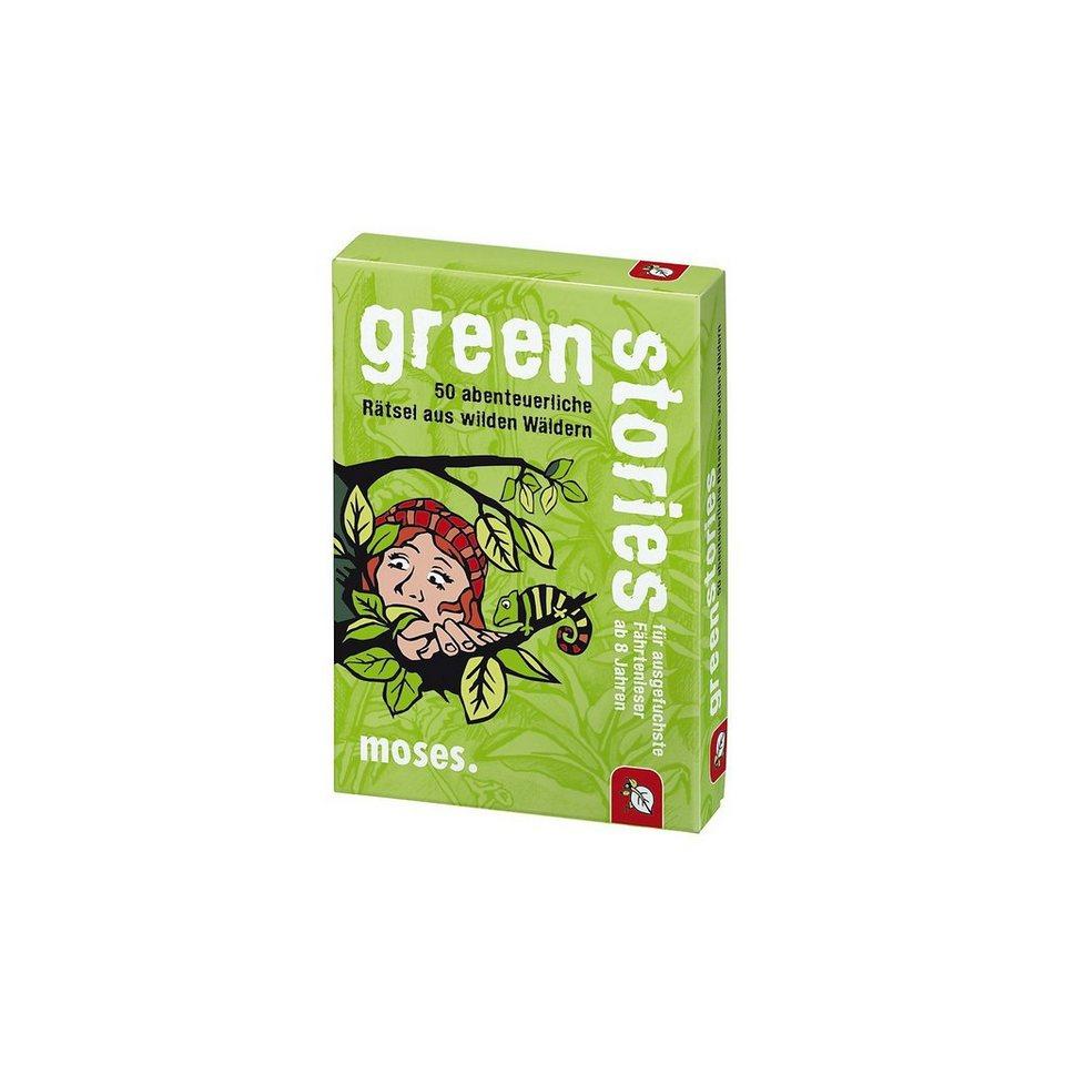 moses Green Stories - 50 abenteuerliche Rätsel aus wilden Wäldern