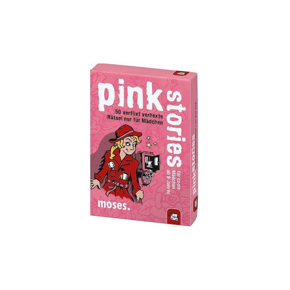 moses Pink Stories - 50 verhexte Rätsel nur für Mädchen