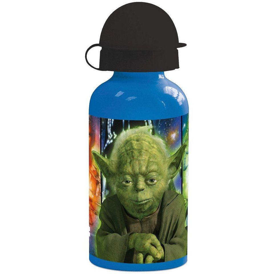 P:OS Alu-Trinkflasche Star Wars, 400 ml in blau