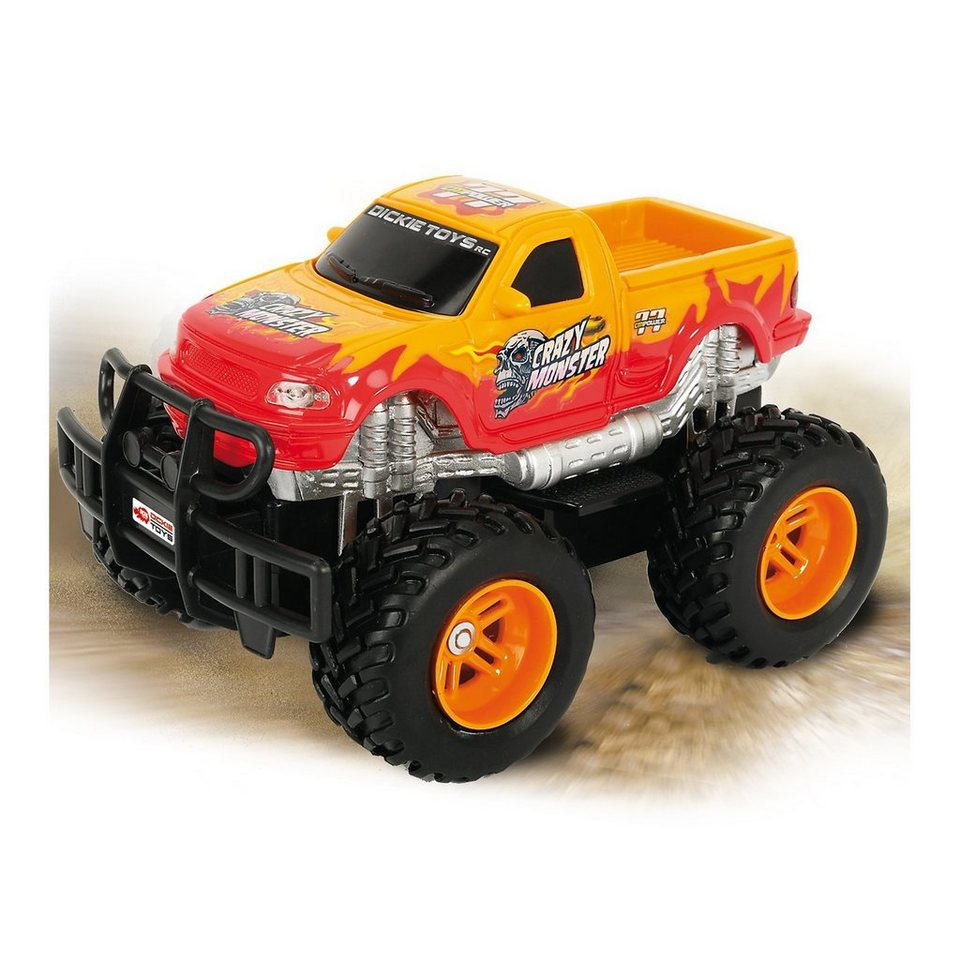 Dickie Toys DICKIE RC Crazy Monster, RTR, orange 40 MHz