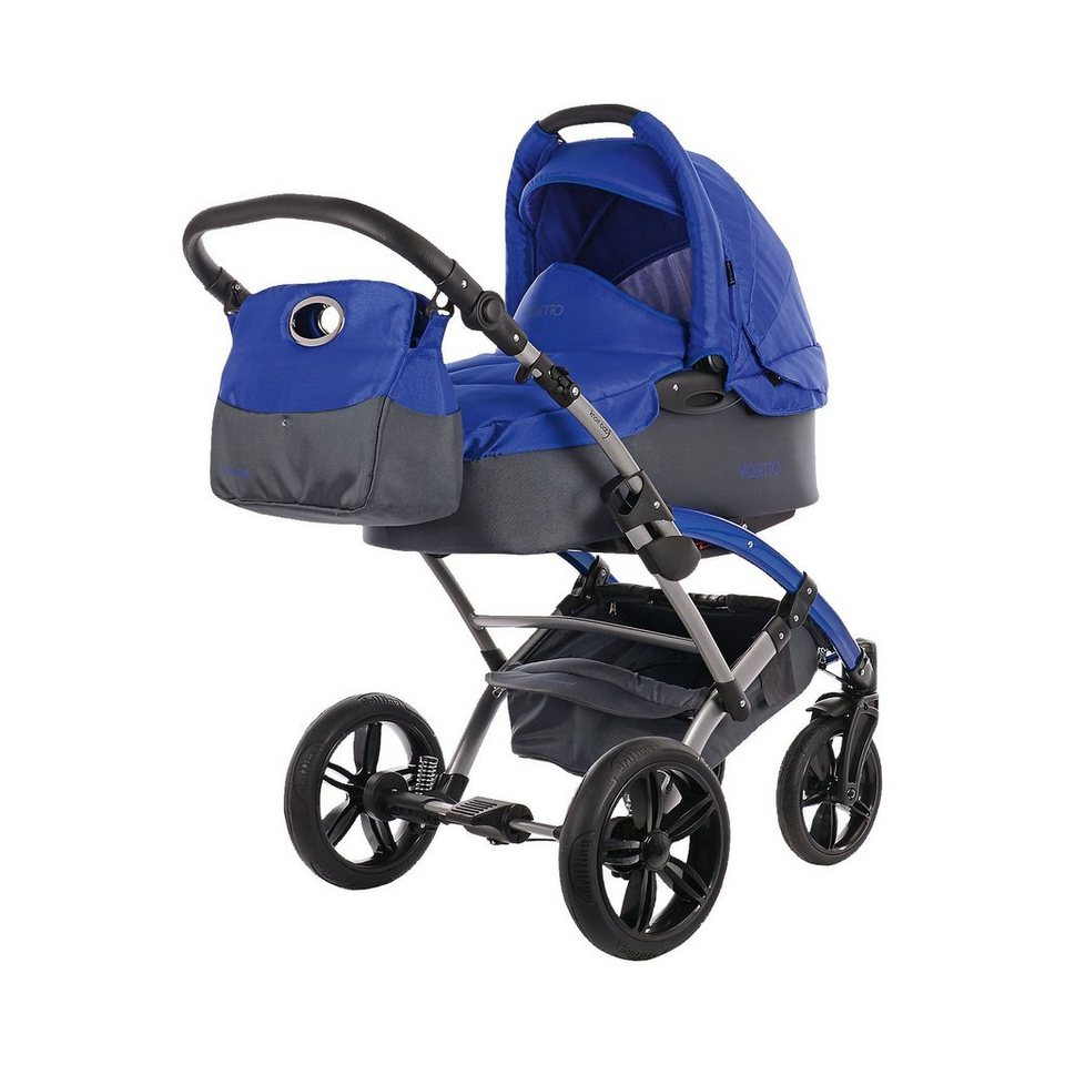 knorr baby kombi kinderwagen voletto sport mit wickeltasche grau blau online kaufen otto. Black Bedroom Furniture Sets. Home Design Ideas