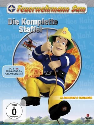 Just Bridge Entertainment DVD Feuerwehrmann Sam Komplettbox 6. Staffel (5 DVDs)