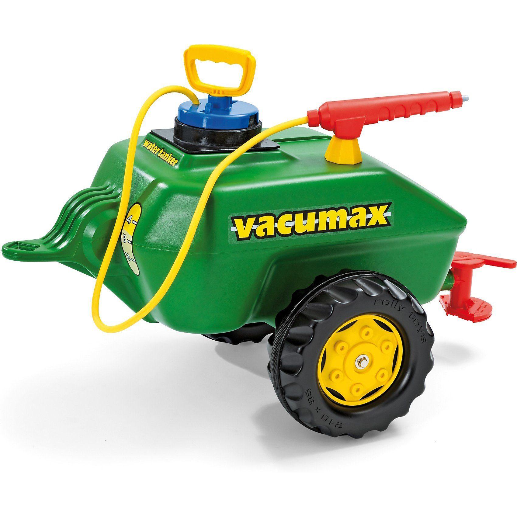 Rolly Toys Rolly Vacumax Fassanhänger mit Pumpe