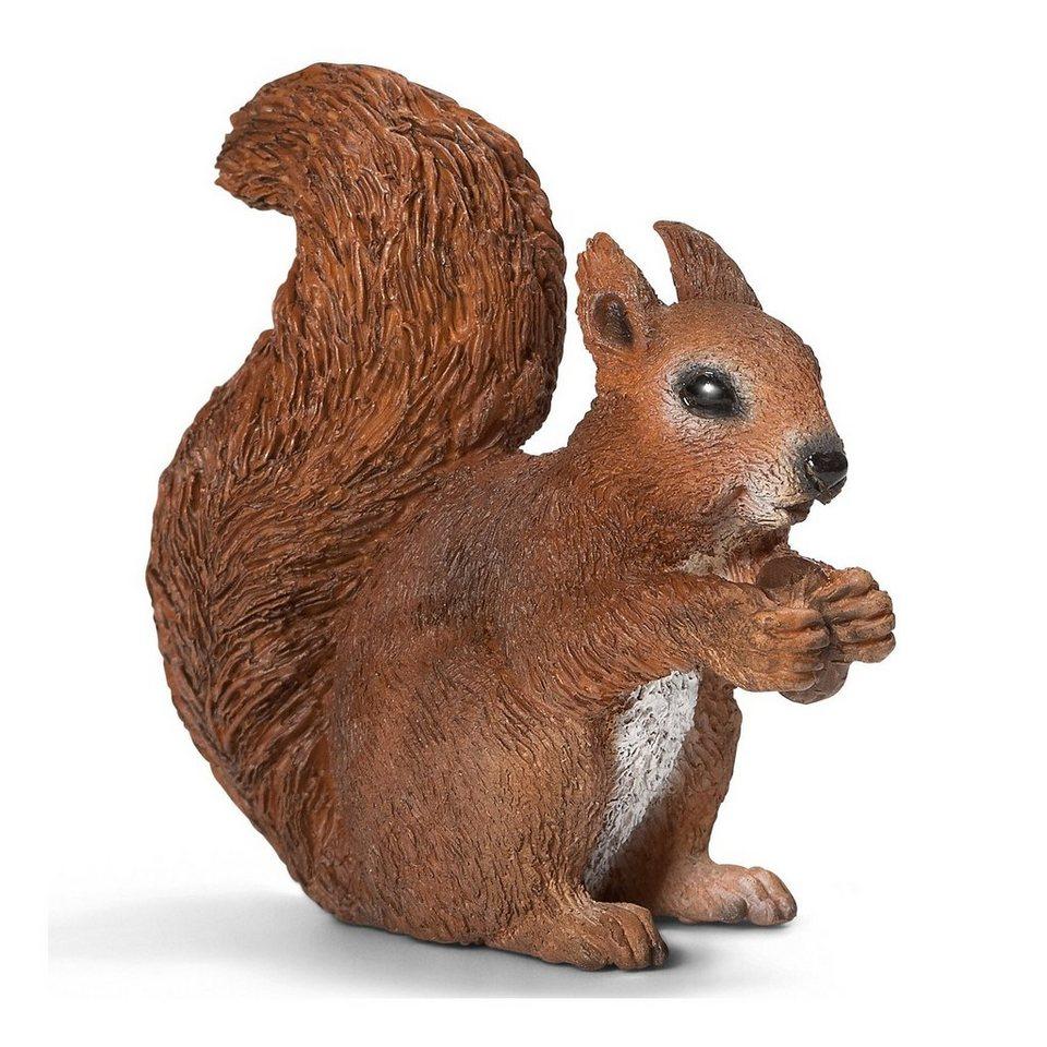 Schleich 14684 Wild Life: Eichhörnchen, fressend