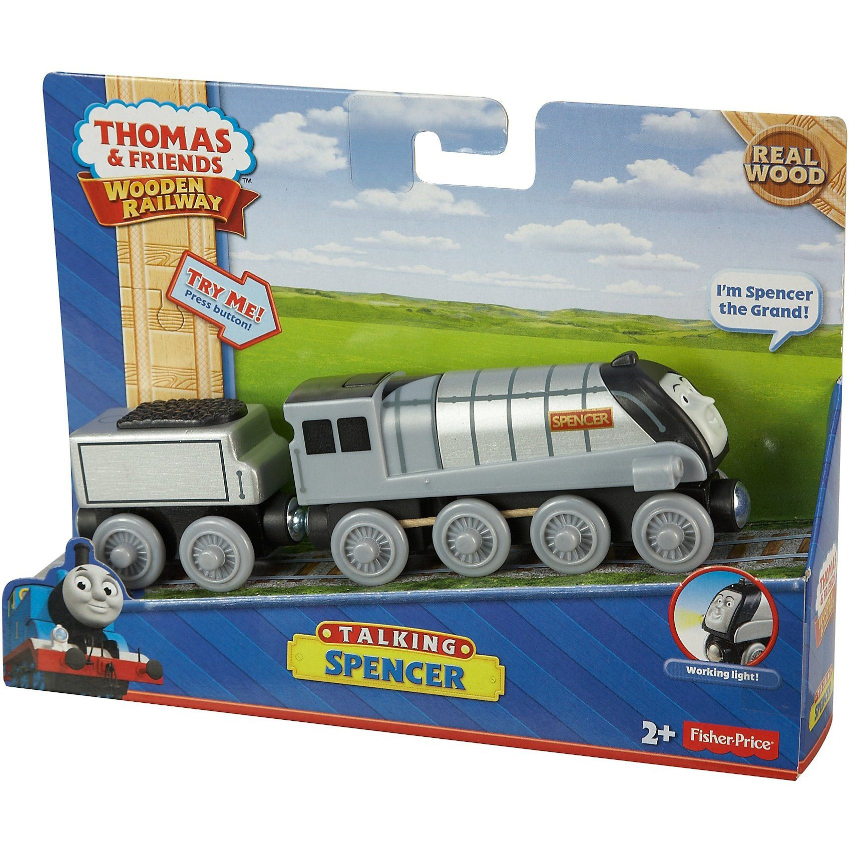 Mattel Thomas und seine Freunde - Spencer (Holz, mit Sound)