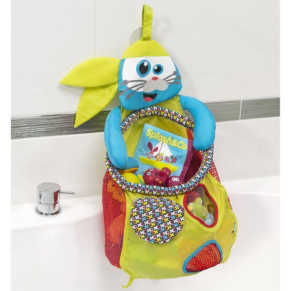 Babymoov Badewannennetz, Seerobbe in mehrfarbig