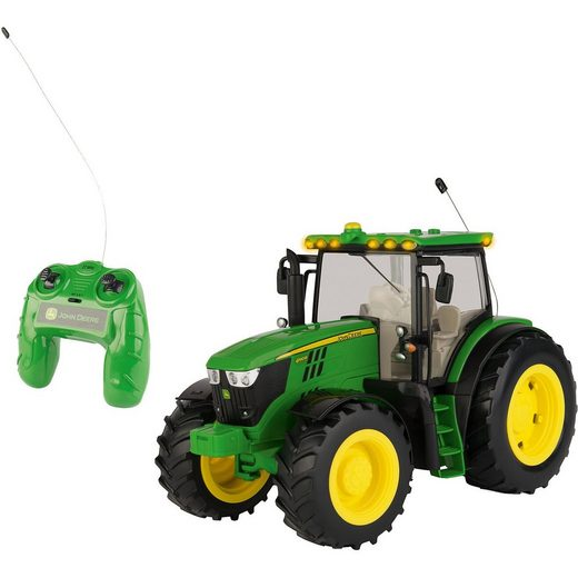 Tomy® Ferngesteuerter RC JD 6190R Traktor