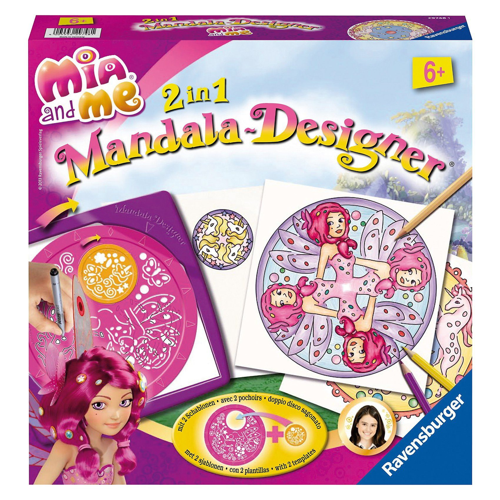 Ravensburger 2in1 Mandala Designer® Mia & Me