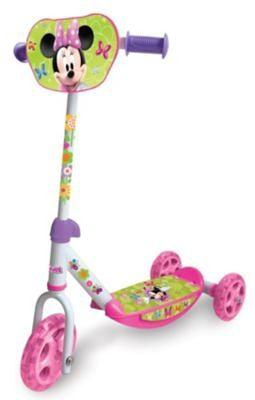 Smoby Minnie Maus Roller, 3 Räder