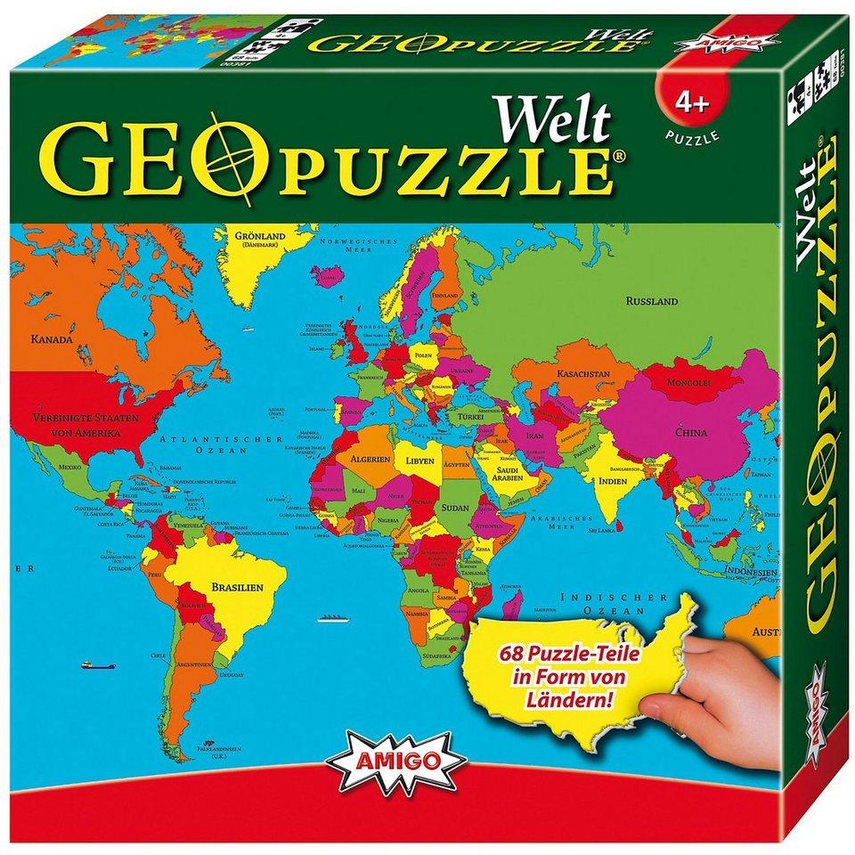 Amigo GeoPuzzle - Welt