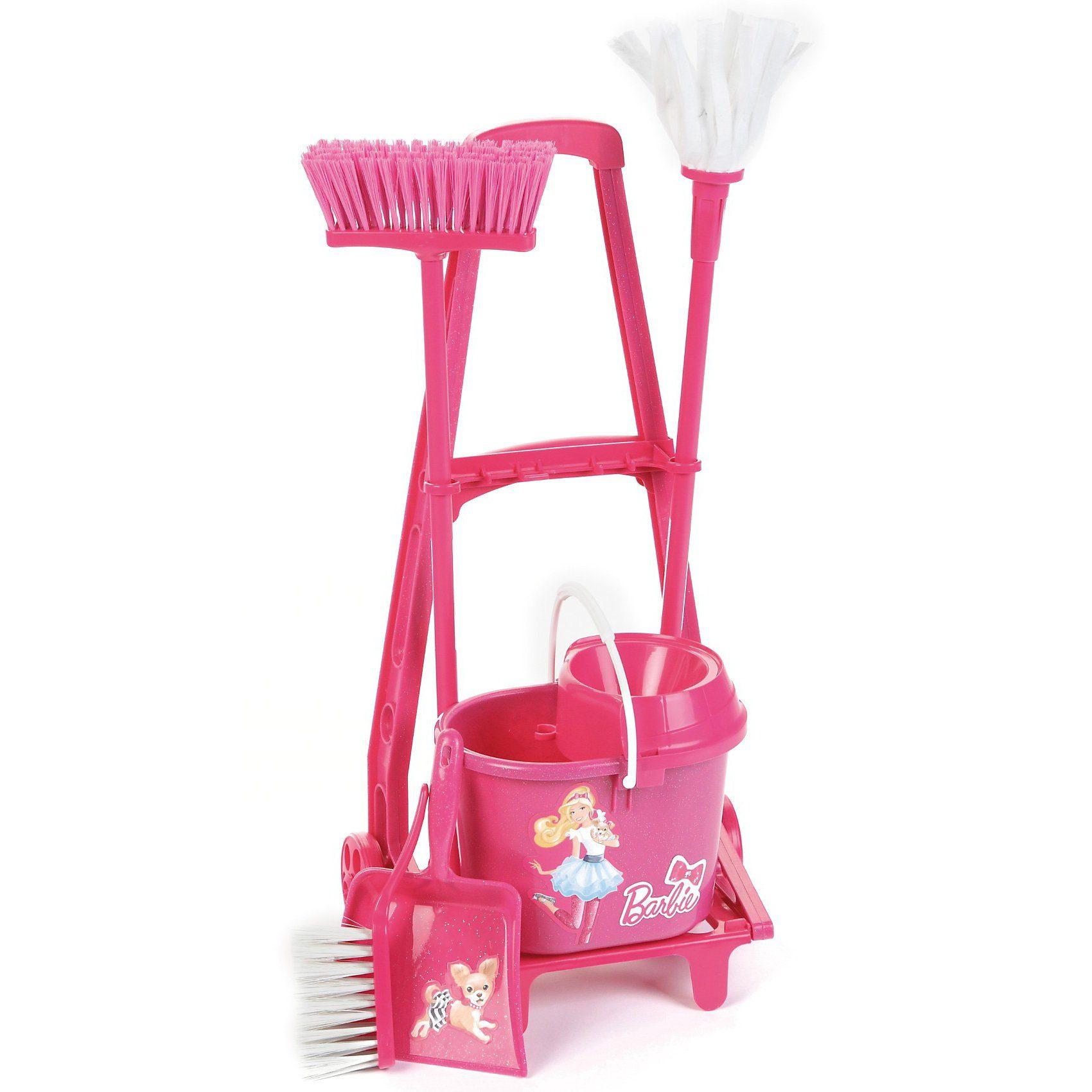 Klein Barbie Besenwagen Haushaltsgerät