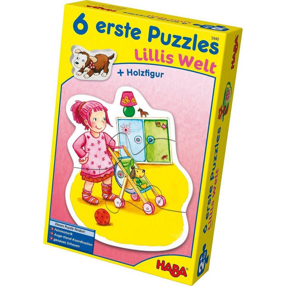 Haba 6 erste Puzzles - Lillis Welt online kaufen
