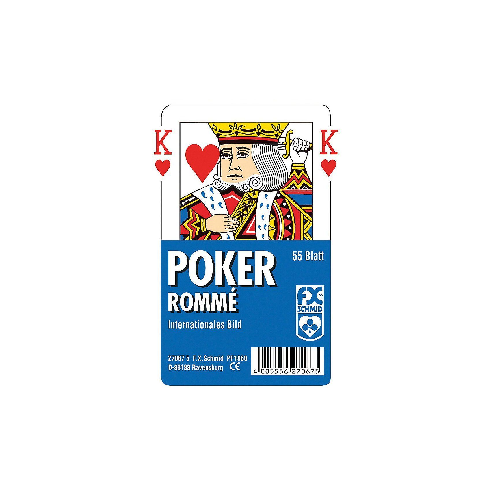 Ravensburger Poker, internationales Bild