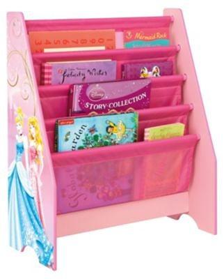 WORLDS APART Hängefach- Bücherregal Disney Princess in rosa