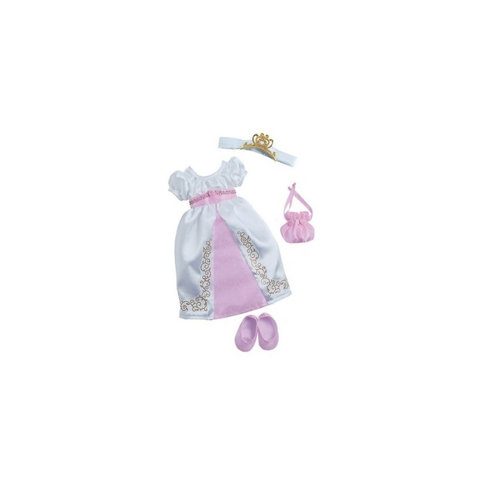 Zapf Creation Nelli dreams Puppenkleidung Set Prinzessin weiß, 40 cm