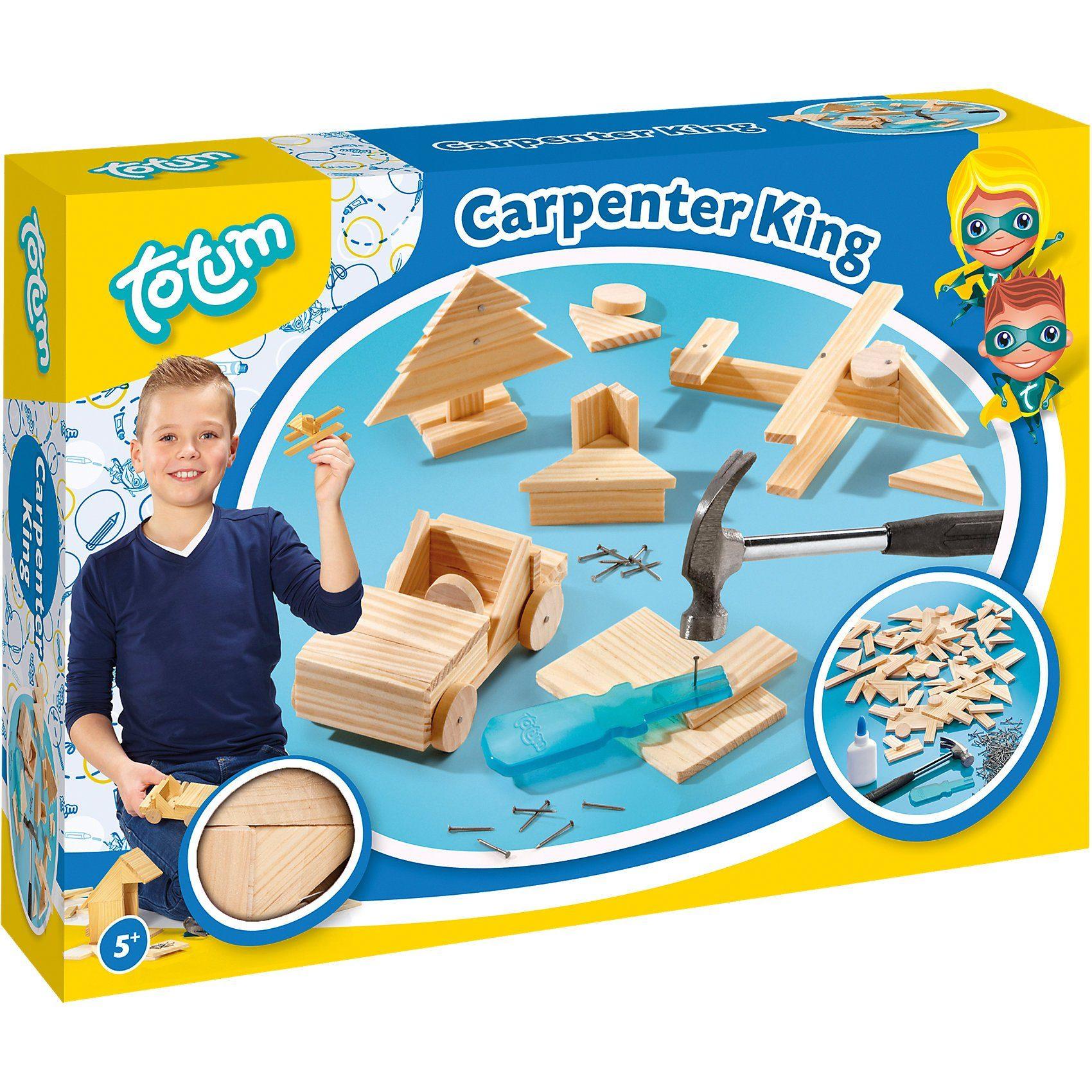TOTUM Kreativset Zimmermann Carpenter King