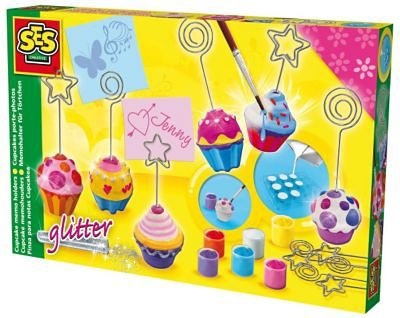 SES Creative Kreativset Memohalter Cupcake gießen