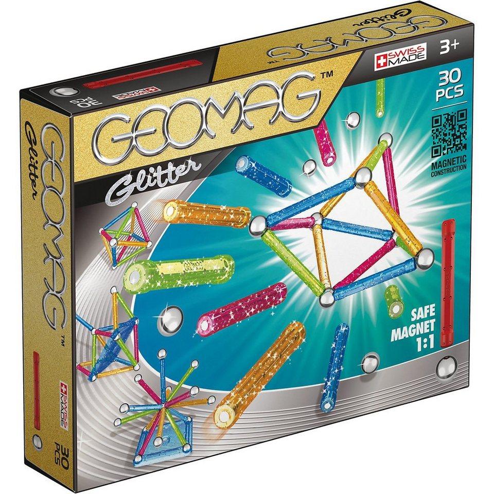 Geomag Glitter, 30-tlg.