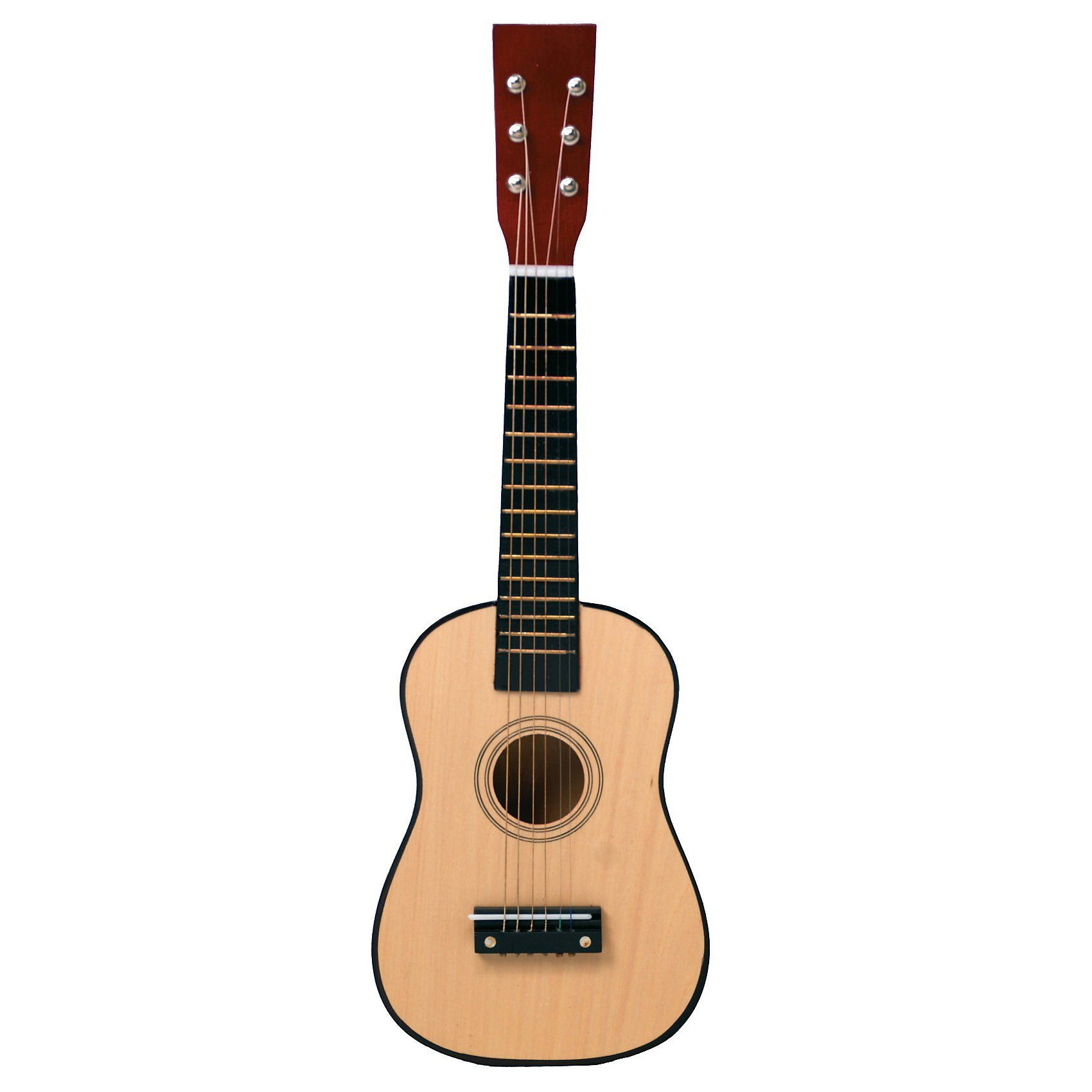 Eitech Gitarre - natur 60 cm, inkl. Gitarrengurt
