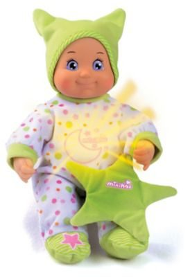 Smoby MiniKiss Dodo Gute-Nacht-Puppe, 27 cm