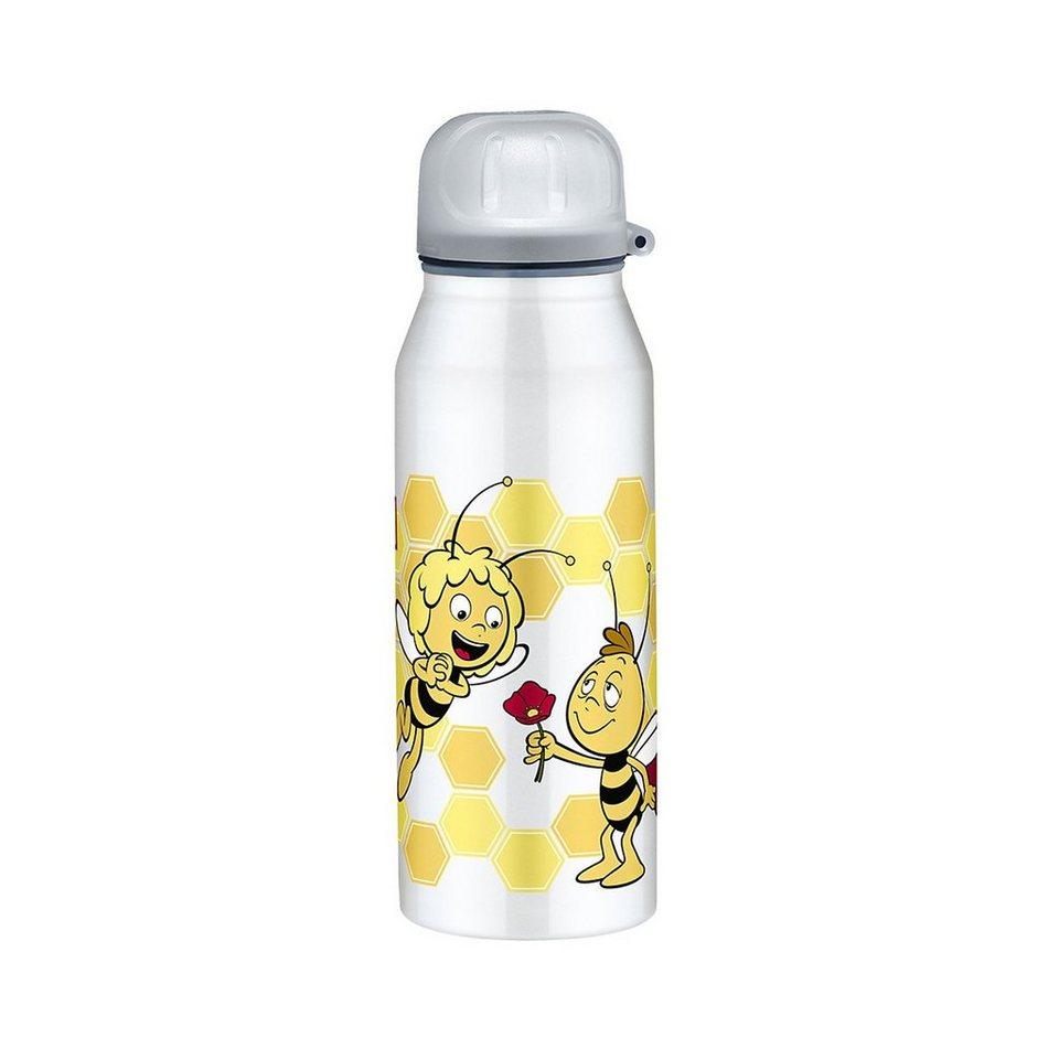 Alfi Isolier-Trinkflasche isoBottle Biene Maja, 350 ml in silber