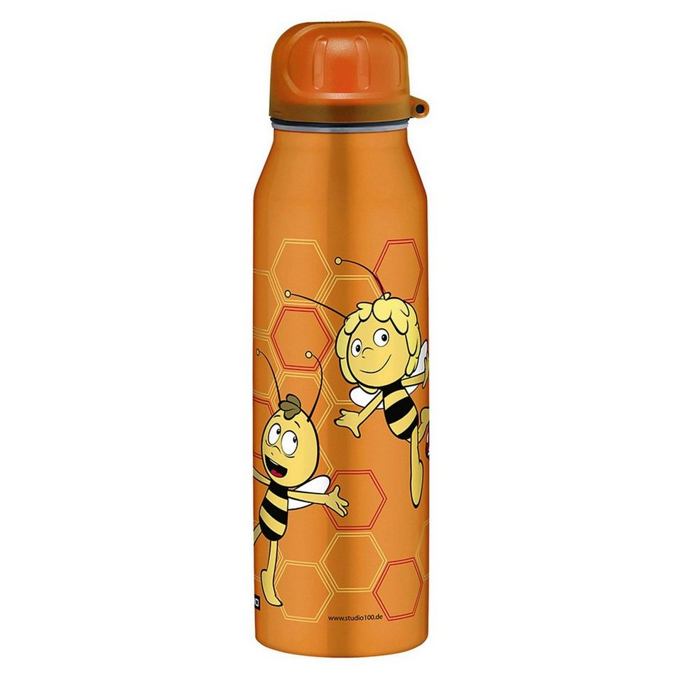 Alfi Isolier-Trinkflasche isoBottle Biene Maja, 500 ml in orange