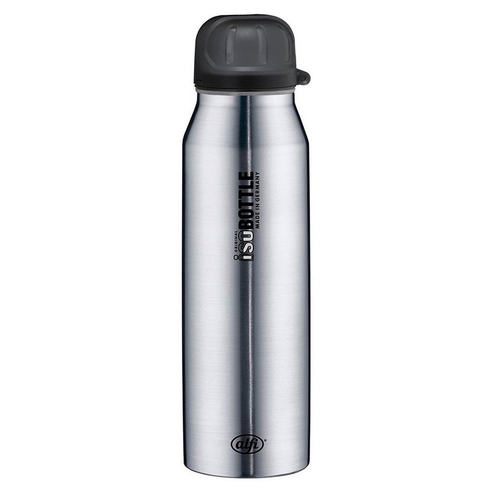 Alfi Isolier-Trinkflasche isoBottle Pure Edelstahl, 500 ml in silber