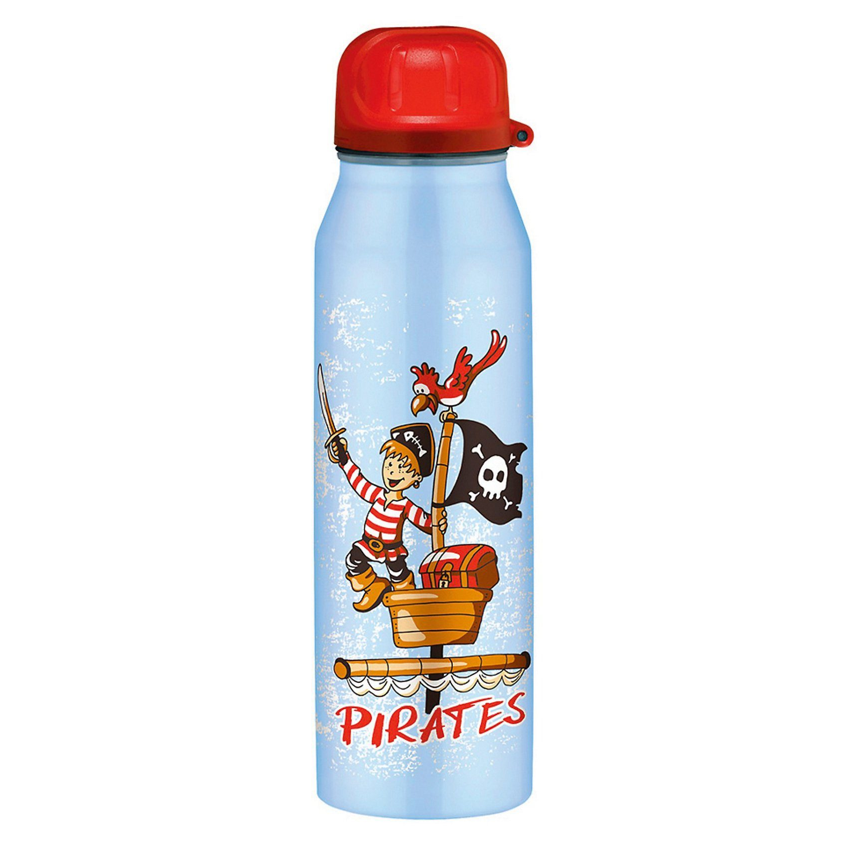 Alfi Isolier-Trinkflasche isoBottle Piraten blau, 500 ml